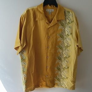 Tommy Bahama linen and silk island shirt
